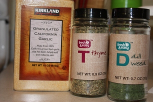 Spices I used